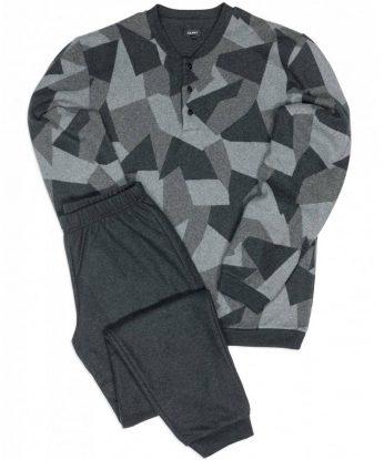 julipet pigiama 26081 grigio lintea andria