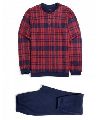 julipet pigiama 26091 rosso lintea andria