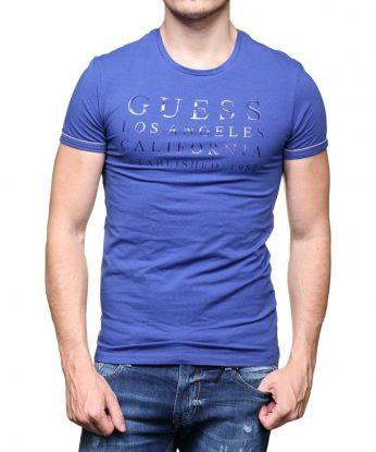 maglia guess U64M18 boston blue
