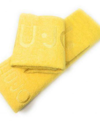 asciugamano valzer giallo