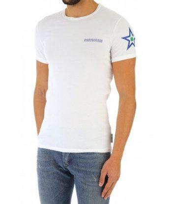 maglia bianca stella