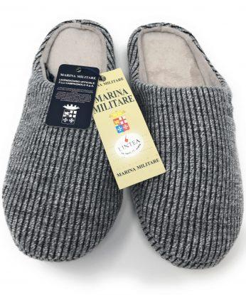 pantofola marina mil grigia