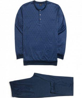 n25951-146f-pigiama-in-filo-di-scozia-jaquard