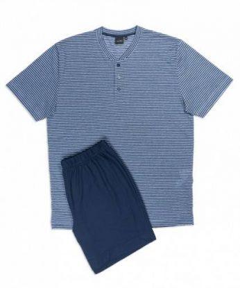 n26554-819f-pigiama-corto-in-fresco-misto-lino