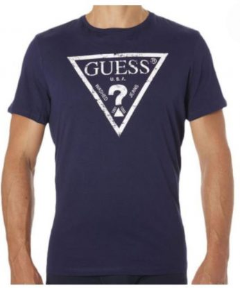 T-shirtGuess-U82100blu