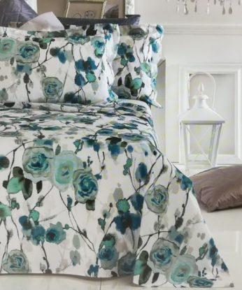 SVAD-DONDI-FOREVER-Blumarine-lenzuolo-completo-letto-balza-copriletto-maxi-king-size-100-puro-cotone-percalle-matrimoniale-ETOILE-600×619