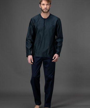 j004n1-217f-pigiama-lungo-in-cotone-filo-di-scozia 1