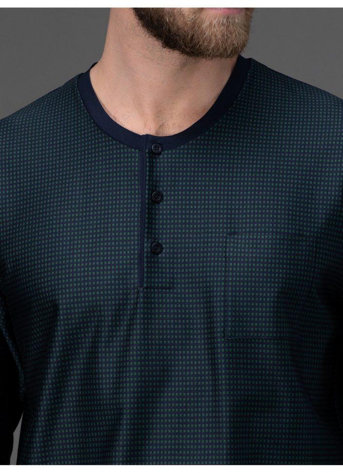 j004n1-217f-pigiama-lungo-in-cotone-filo-di-scozia 3
