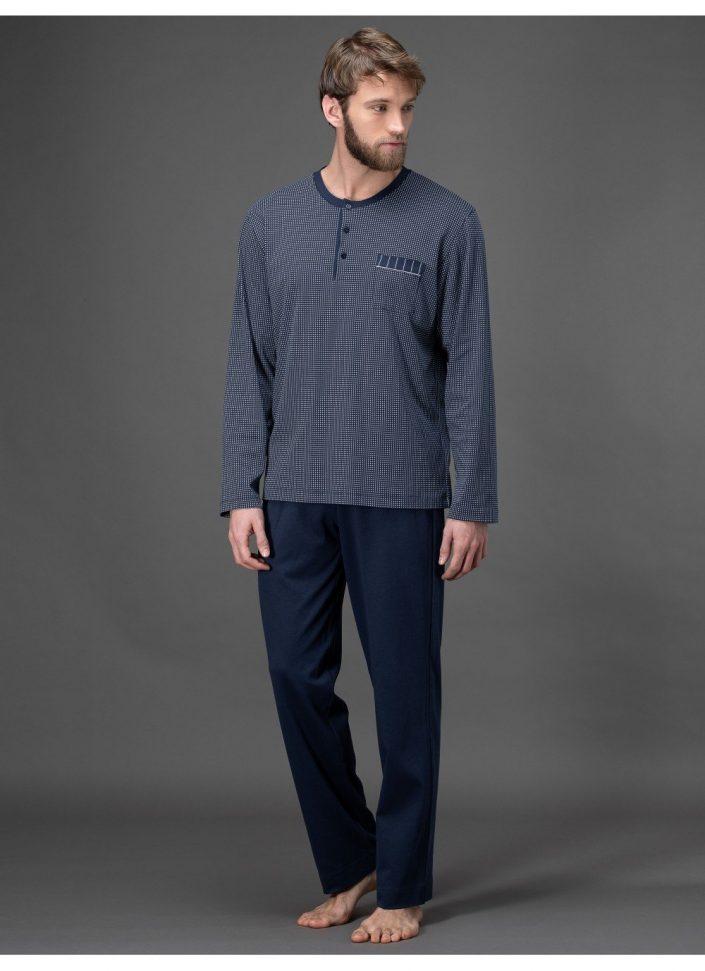 j008n1-665f-pigiama-in-interlock-stampato-di-puro-cotone 1