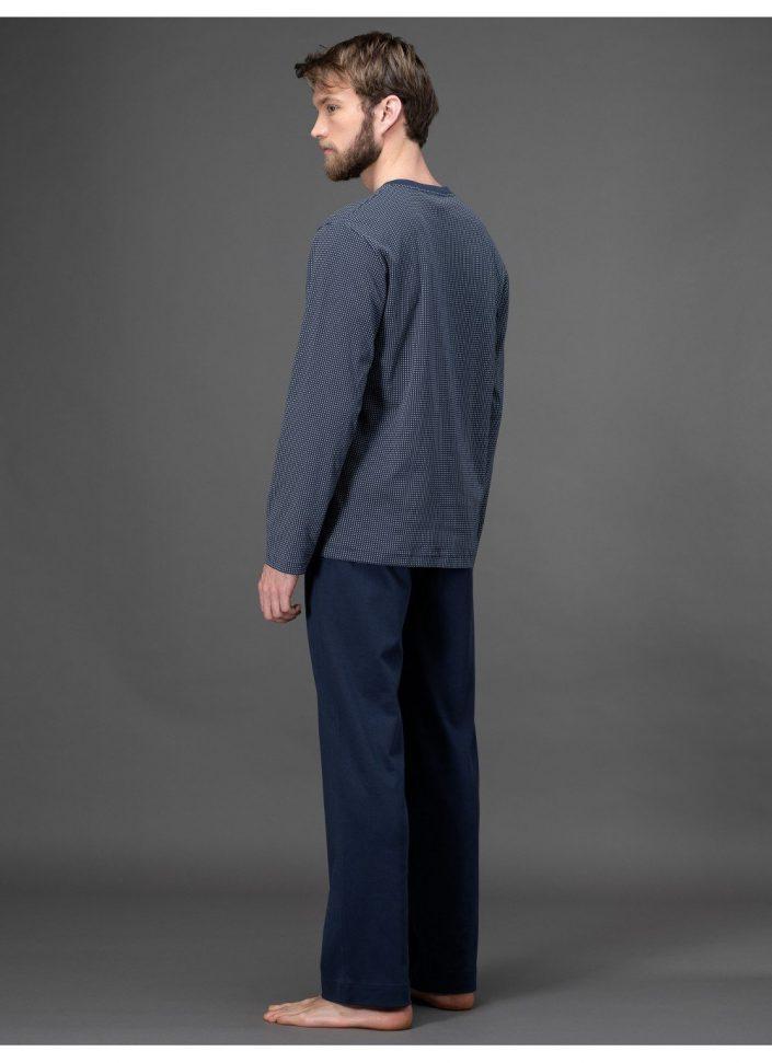 j008n1-665f-pigiama-in-interlock-stampato-di-puro-cotone 2