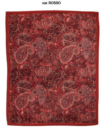 paisley rosso