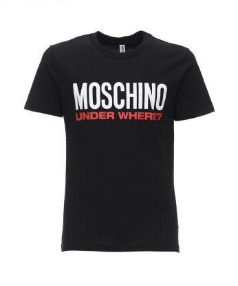 t shirt moschino under where