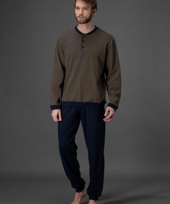 j001n1-136f-pigiama-in-morbido-interlock-stampato-di-puro-cotone 1