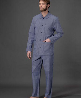 j015n7-115f-pigiama-classico-in-pregiato-tessuto-jacquard 1
