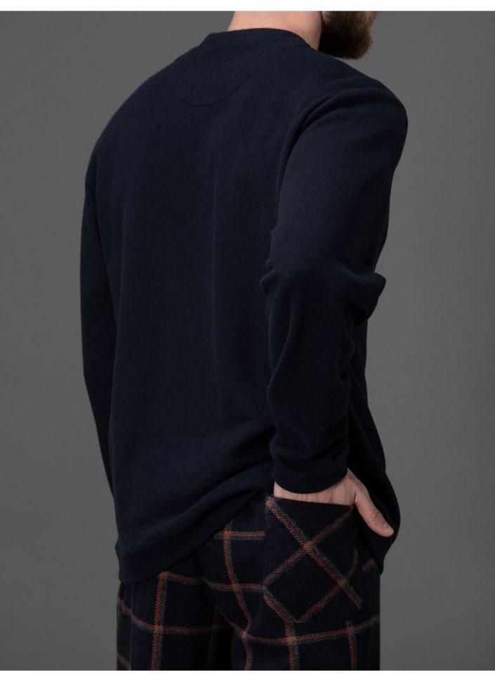 pigiama-in-morbidissimo-punto-milano-jacquard 4