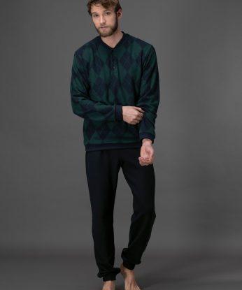 pigiama-in-punto-milano-jacquard 806F 2