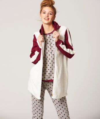 pepita-pigiama-lungo-grigio-a-pois-1