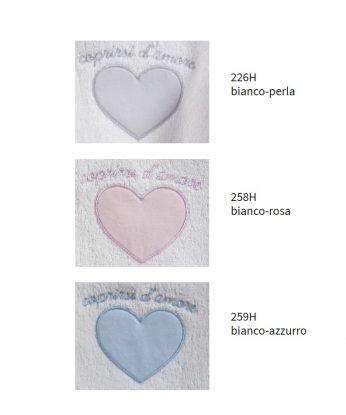 CARTELLA COLORI COPRIRSI D'AMORE BABY