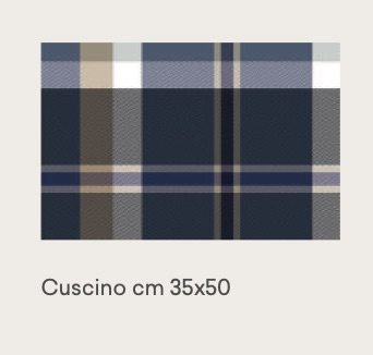 tweed blue 35×50