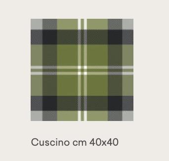 tweed green 40×40