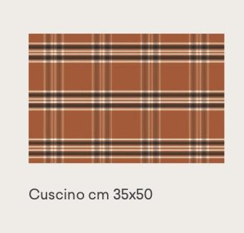 tweed orange 35×50
