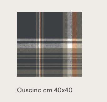 tweed orange 40×40