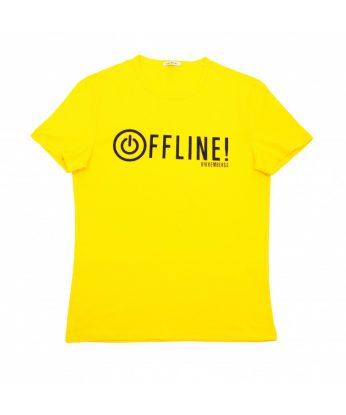 t-shirt-gialla-bikkembergs