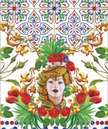 strofinaccio dama siciliana